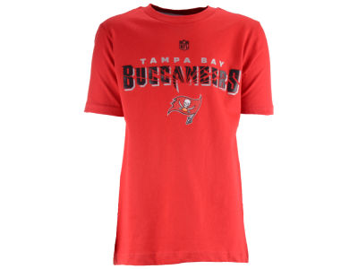 Tampa Bay Buccaneers NFL Youth Shatter Mark Short Sleeve Basic T-Shirt