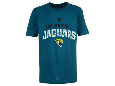 Jacksonville Jaguars NFL Youth Shatter Mark Short Sleeve Basic T-Shirt