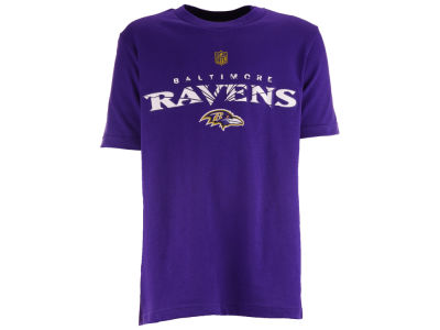 Baltimore Ravens NFL Youth Shatter Mark Short Sleeve Basic T-Shirt