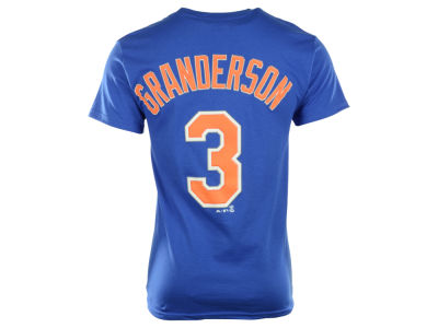 New York Mets Curtis Granderson Majestic MLB Men's Official Player T-Shirt