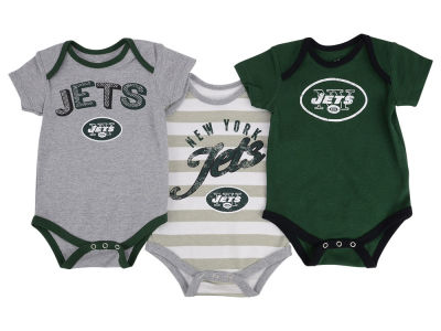 New York Jets NFL Newborn Field Goal Bodysuit Set