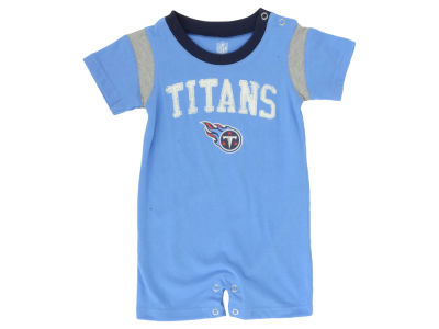 Tennessee Titans NFL Toddler Old School Romper