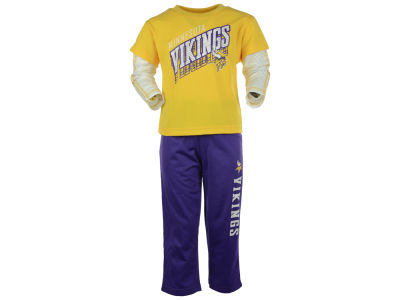 Minnesota Vikings NFL Toddler Off Field Pant Set