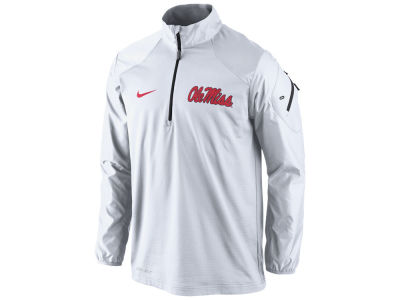Ole Miss Rebels Nike NCAA Men's Defender Hybrid Half Zip Pullover Shirt