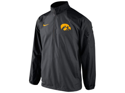 Iowa Hawkeyes Nike NCAA Men's Lockdown Half Zip Pullover Jacket
