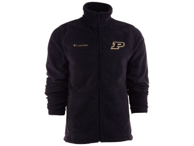 Purdue Boilermakers Columbia NCAA Flanker Full Zip Fleece