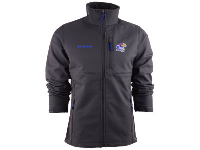 Kansas Jayhawks Columbia NCAA Ascender Softshell Jacket