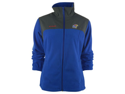 Kansas Jayhawks NCAA Women's Fast Tech Fleece Jacket
