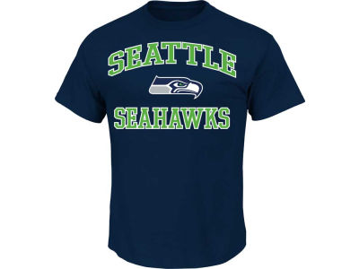 Seattle Seahawks NFL Heart and Soul T-Shirt