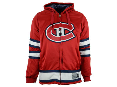 Montreal Canadiens NHL Men's Cross Check Jacket