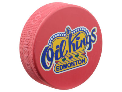 Edmonton Oil Kings Basic Logo Puck