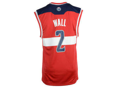 Washington Wizards John Wall adidas NBA Rev 30 Replica Jersey