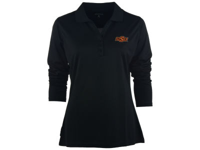 Oklahoma State Cowboys NCAA Women's Long Sleeve Exceed Polo Shirt