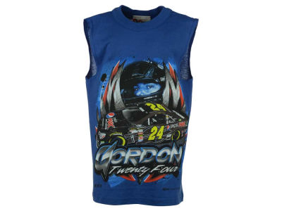 Jeff Gordon NASCAR Youth Sleeveless T-Shirt