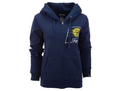 Indiana Pacers 5th & Ocean NBA Womens Full Zip Hoodie