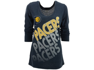 Indiana Pacers 5th & Ocean NBA Womens Long Sleeve Scoop T-Shirt