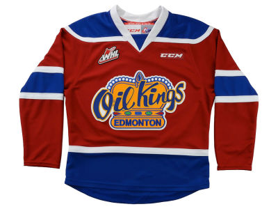 Edmonton Oil Kings Reebok NHL Youth Premier Jersey