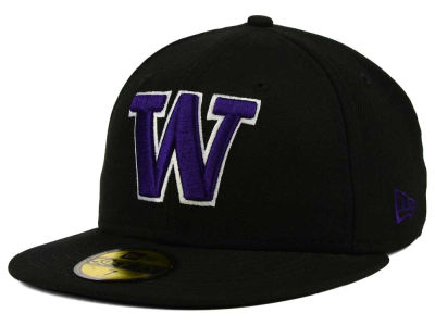 Washington Huskies New Era NCAA AC 59FIFTY Cap