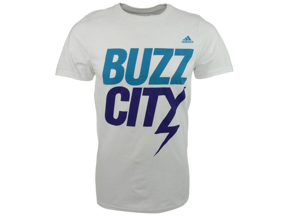 bdb8b189a6f ... uk charlotte hornets adidas nba buzz city t shirt 6621b 7dd38