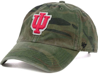 Indiana Hoosiers '47 NCAA Operation Hat Trick Movement '47 CLEAN UP Cap