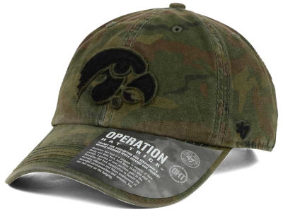 Iowa Hawkeyes '47 NCAA Operation Hat Trick Movement '47 CLEAN UP Cap