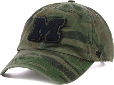 Michigan Wolverines '47 NCAA Operation Hat Trick Movement '47 CLEAN UP Cap
