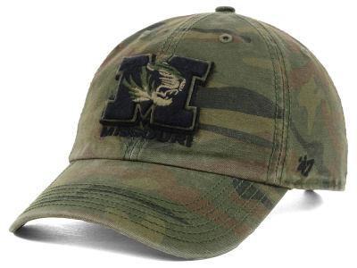 Missouri Tigers '47 NCAA Operation Hat Trick Movement '47 CLEAN UP Cap