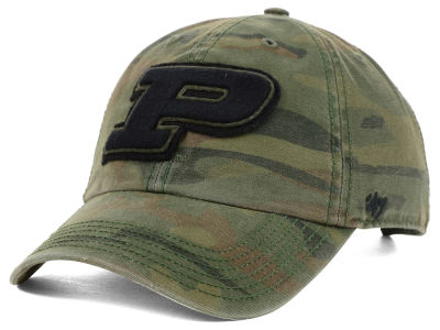 Purdue Boilermakers '47 NCAA Operation Hat Trick Movement '47 CLEAN UP Cap