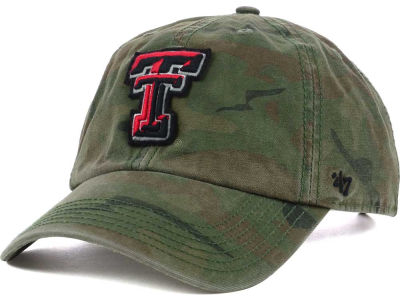 Texas Tech Red Raiders '47 NCAA Operation Hat Trick Movement '47 CLEAN UP Cap