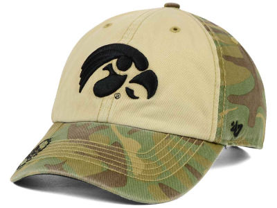 Iowa Hawkeyes '47 NCAA Operation Hat Trick Gordie '47 CLEAN UP Cap