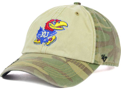 Kansas Jayhawks '47 NCAA Operation Hat Trick Gordie '47 CLEAN UP Cap