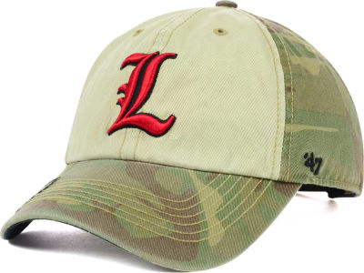 Louisville Cardinals '47 NCAA Operation Hat Trick Gordie '47 CLEAN UP Cap