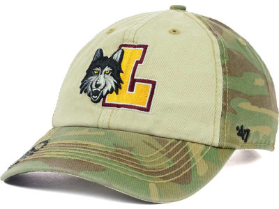Loyola Ramblers '47 NCAA Operation Hat Trick Gordie '47 CLEAN UP Cap