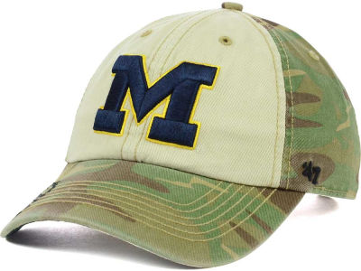 Michigan Wolverines '47 NCAA Operation Hat Trick Gordie '47 CLEAN UP Cap