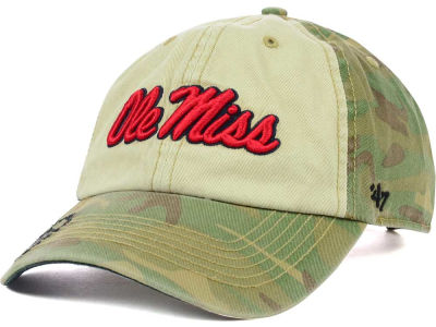 Ole Miss Rebels '47 NCAA Operation Hat Trick Gordie '47 CLEAN UP Cap