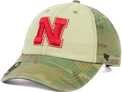 Nebraska Cornhuskers '47 NCAA Operation Hat Trick Gordie '47 CLEAN UP Cap