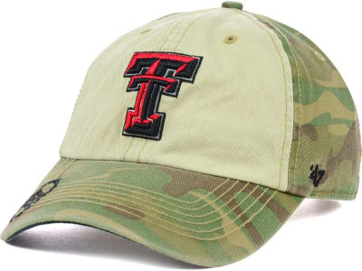 Texas Tech Red Raiders '47 NCAA Operation Hat Trick Gordie '47 CLEAN UP Cap