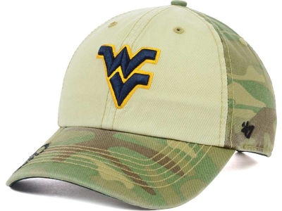 West Virginia Mountaineers '47 NCAA Operation Hat Trick Gordie '47 CLEAN UP Cap