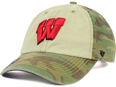 Wisconsin Badgers '47 NCAA Operation Hat Trick Gordie '47 CLEAN UP Cap