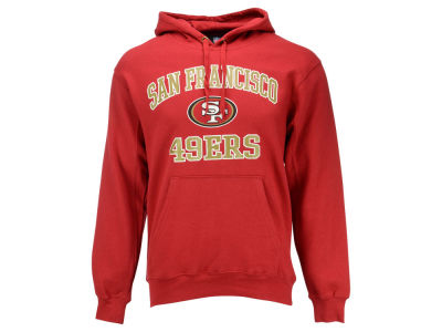 San Francisco 49ers NFL Men's Heart and Soul Hoodie