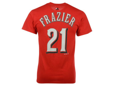 Cincinnati Reds Todd Frazier Majestic MLB Men's Official Player T-Shirt