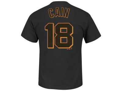 San Francisco Giants Matt Cain Majestic MLB Men's Official Player T-Shirt