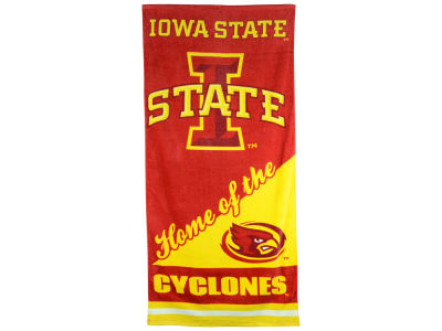 Iowa State Cyclones Beach Towel Home NCAA