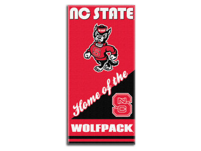 North Carolina State Wolfpack Beach Towel Home NCAA