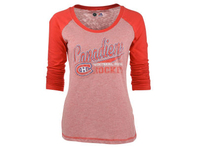 Montreal Canadiens Majestic NHL Womens Backcheck T-Shirt