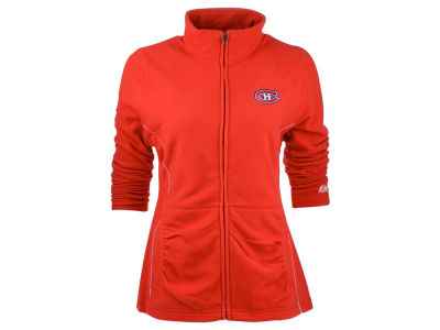 Montreal Canadiens Majestic NHL Womens Minor Penalty Full Zip Fleece