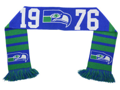 Seattle Seahawks Retro Scarf