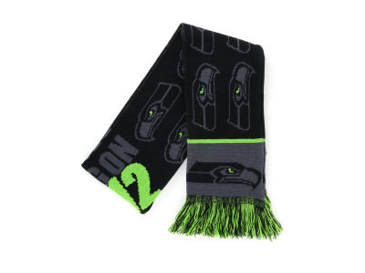 Seattle Seahawks Acrylic Knit Fan Scarf