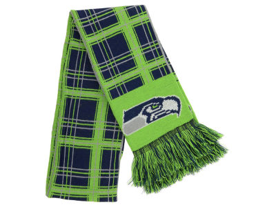 Seattle Seahawks Plaid Scarf
