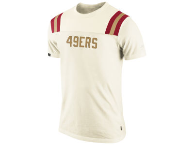 San Francisco 49ers Nike NFL Washed Football Top